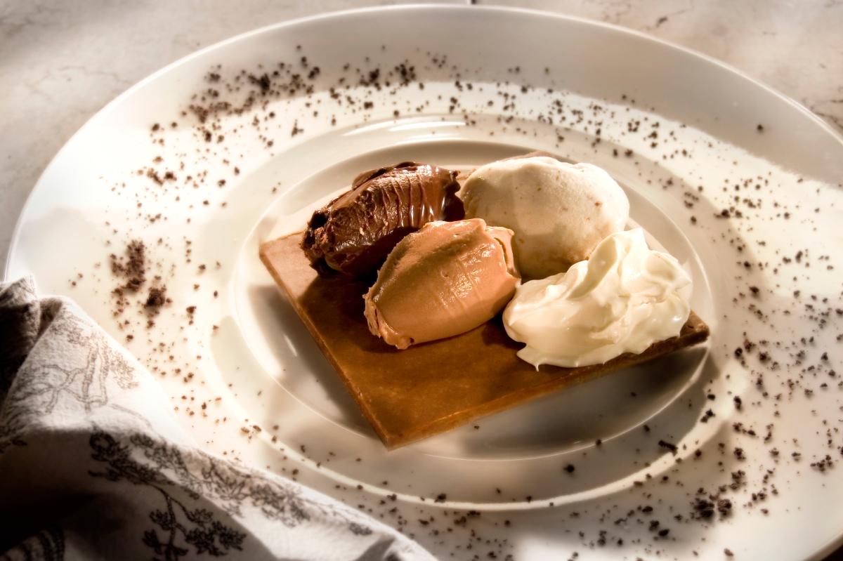 שוקולד מושחת וקראנצ'י מאנטה ריי